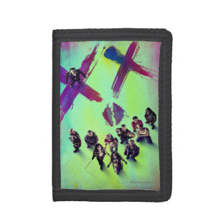 Suicide Squad | Group Poster Trifold Wallets