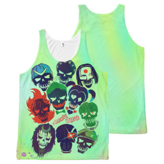 Suicide Squad | Group Toss All-Over Print Tank Top