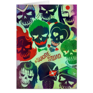 Suicide Squad | Group Toss Card