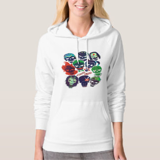 Suicide Squad   Group Toss Hoodie