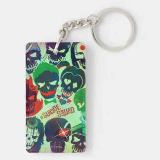 Suicide Squad | Group Toss Key Ring
