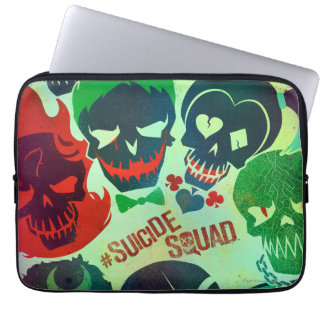 Suicide Squad | Group Toss Laptop Sleeve