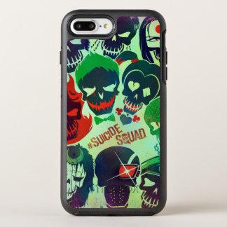 Suicide Squad | Group Toss OtterBox Symmetry iPhone 7 Plus Case