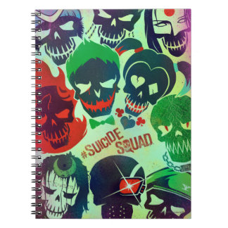 Suicide Squad | Group Toss Spiral Notebook