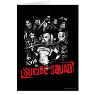 Suicide Squad | Grunge Group Photo Card