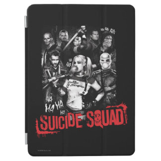 Suicide Squad | Grunge Group Photo iPad Air Cover
