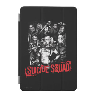 Suicide Squad | Grunge Group Photo iPad Mini Cover