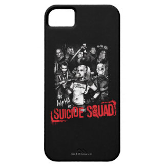 Suicide Squad | Grunge Group Photo iPhone 5 Cases