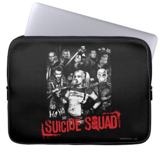 Suicide Squad | Grunge Group Photo Laptop Sleeve