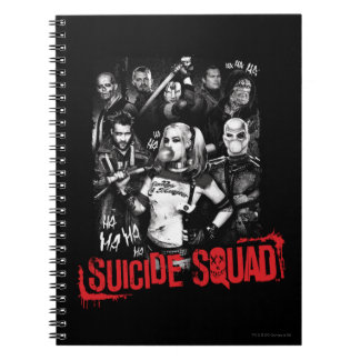 Suicide Squad | Grunge Group Photo Notebooks