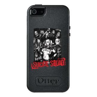 Suicide Squad | Grunge Group Photo OtterBox iPhone 5/5s/SE Case