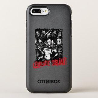 Suicide Squad | Grunge Group Photo OtterBox Symmetry iPhone 8 Plus/7 Plus Case