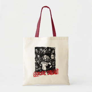 Suicide Squad | Grunge Group Photo Tote Bag