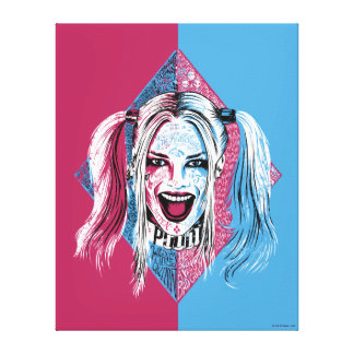 Suicide Squad | Harley Laugh Canvas Print