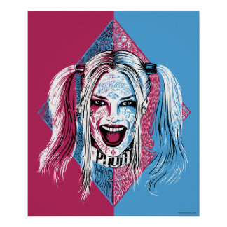 Suicide Squad | Harley Laugh Poster