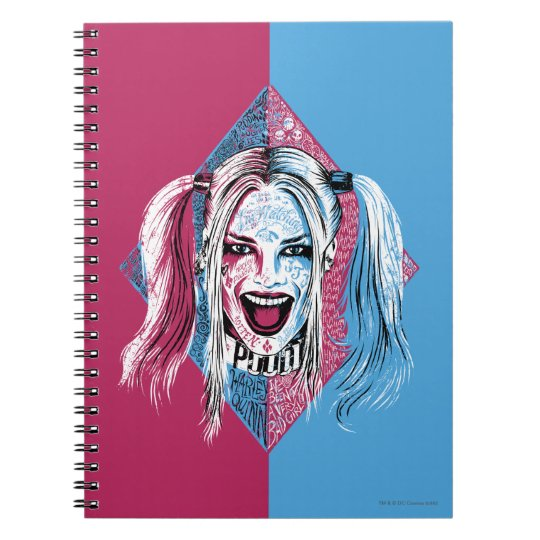 Suicide Squad | Harley Laugh Spiral Notebook
