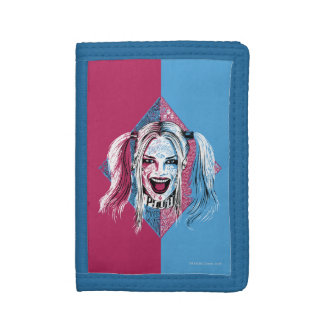 Suicide Squad | Harley Laugh Tri-fold Wallet