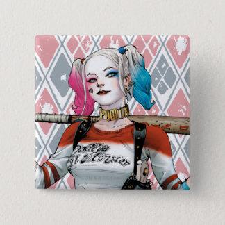 Suicide Squad | Harley Quinn 15 Cm Square Badge