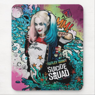 Suicide Squad | Harley Quinn Character Graffiti Mouse Mat