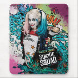 Suicide Squad   Harley Quinn Character Graffiti Mouse Pad