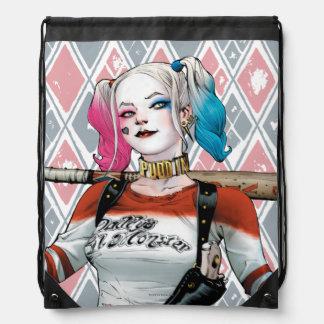 Suicide Squad | Harley Quinn Drawstring Bag
