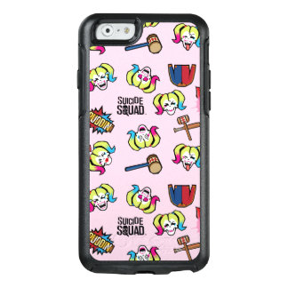 Suicide Squad | Harley Quinn Emoji Pattern OtterBox iPhone 6/6s Case