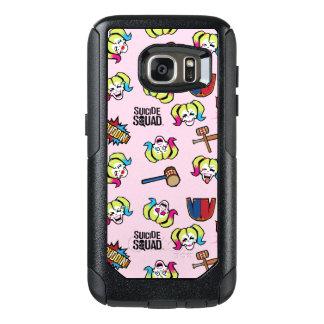 Suicide Squad | Harley Quinn Emoji Pattern OtterBox Samsung Galaxy S7 Case