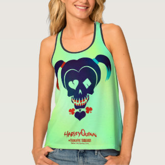 Suicide Squad | Harley Quinn Head Icon 2 Tank Top