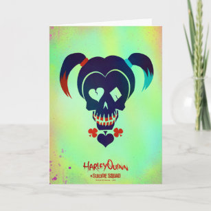 Suicide Squad Harley Quinn Head Icon Card