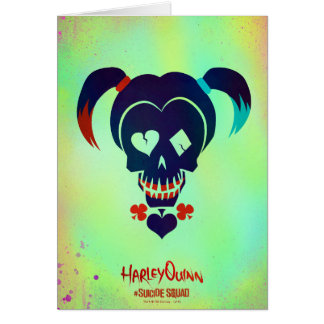 Suicide Squad | Harley Quinn Head Icon Card