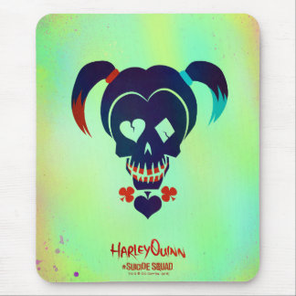 Suicide Squad | Harley Quinn Head Icon Mouse Pad