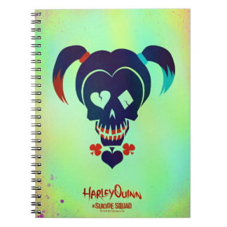 Suicide Squad | Harley Quinn Head Icon Note Book