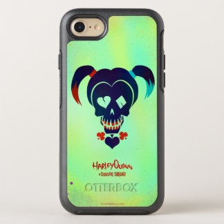 Suicide Squad | Harley Quinn Head Icon OtterBox Symmetry iPhone 8/7 Case