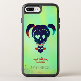 Suicide Squad | Harley Quinn Head Icon OtterBox Symmetry iPhone 8 Plus/7 Plus Case