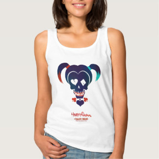 Suicide Squad | Harley Quinn Head Icon Tank Top