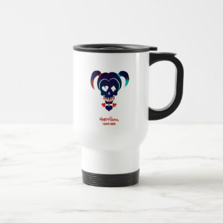 Suicide Squad | Harley Quinn Head Icon Travel Mug