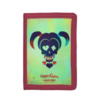 Suicide Squad | Harley Quinn Head Icon Trifold Wallet