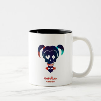 Suicide Squad | Harley Quinn Head Icon Two-Tone Coffee Mug