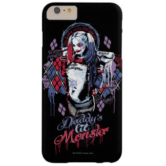 Suicide Squad | Harley Quinn Inked Graffiti Barely There iPhone 6 Plus Case