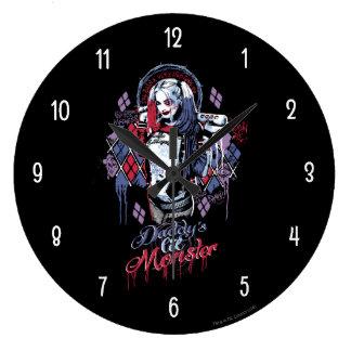 Suicide Squad | Harley Quinn Inked Graffiti Clocks