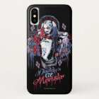 Suicide Squad | Harley Quinn Inked Graffiti iPhone X Case