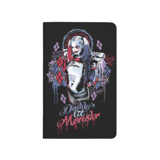 Suicide Squad | Harley Quinn Inked Graffiti Journals