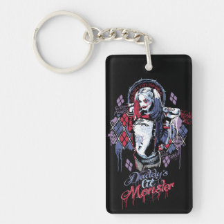 Suicide Squad | Harley Quinn Inked Graffiti Key Ring