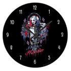 Suicide Squad   Harley Quinn Inked Graffiti Large Clock