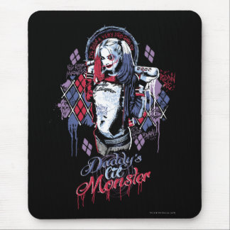 Suicide Squad | Harley Quinn Inked Graffiti Mouse Mat