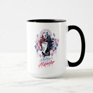 Suicide Squad   Harley Quinn Inked Graffiti Mug