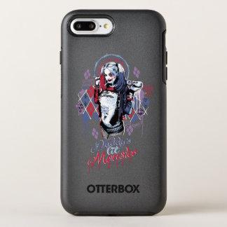 Suicide Squad | Harley Quinn Inked Graffiti OtterBox Symmetry iPhone 8 Plus/7 Plus Case
