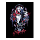 Suicide Squad | Harley Quinn Inked Graffiti Postcard