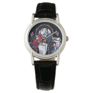 Suicide Squad | Harley Quinn Inked Graffiti Watch