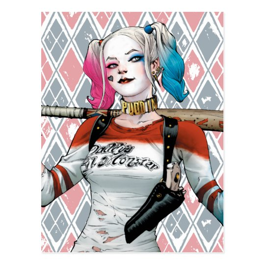 Suicide Squad | Harley Quinn Postcard